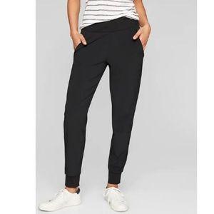 Athleta Women's Pants, Black Size 2 Soho Jogger